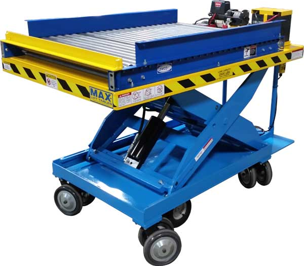 Mobile Lift Table With Die Winch
