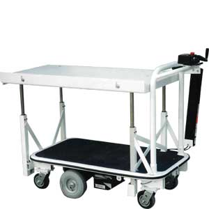 Electric Cart With Mechanical Lift