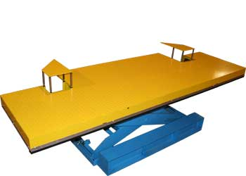 Lift Table With 50,000 lb Roll Over Capacity