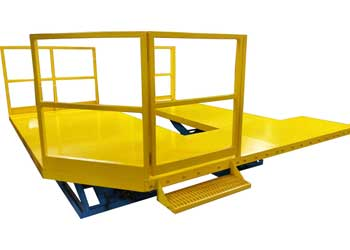 Double Wide Lifting Work Platform