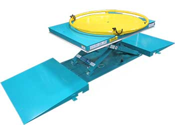 Ramp On and Off Low Profile Lift Table