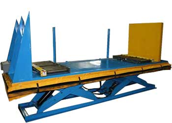 Lift Table With Powered Squaring Platform