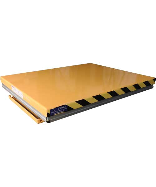 G Series Lift Table Lowered