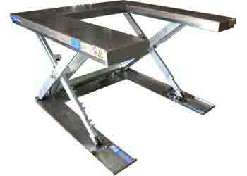 Stainless U-Lift Table