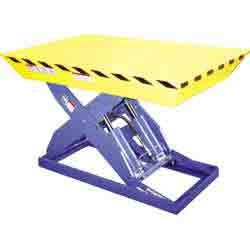 Tapered Toe Guard Lift Table