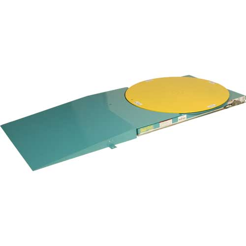 Lift-N-Spin Lift Table Lowered