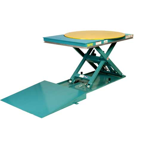 Lift-N-Spin Lift Table Raised