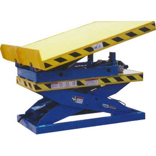 Max-Lift And Tilt Table Back View
