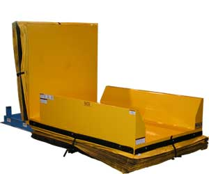 Upender With Safety Skirting